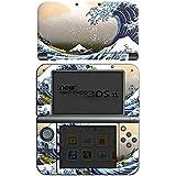 Nintendo New 3DS XL Case Skin Sticker aus Vinyl-Folie Aufkleber Katsushika Hokusai Japan Kunst