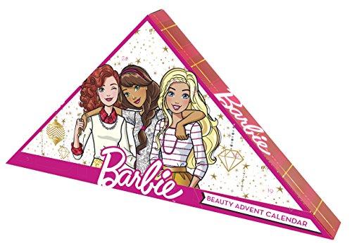 Markwins Barbie Beauty Adventskalender 2018 mit 24 tollen Überraschungen für schöne Haare, Nägel, Augen & glanzvolle Lippen