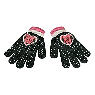 Minnie 2200000339Magische Handschuhe für Kinder, Rosa, Einheitsgröße
