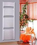 Badheizkörper Design Mannheim 3, HxB: 177 x 60 cm, 1471 Watt, weiß (Marke: Szagato) Made in Germany / Top-verarbeiteter Bad und Wohnraum-Heizkörper (Seitenanschluss)