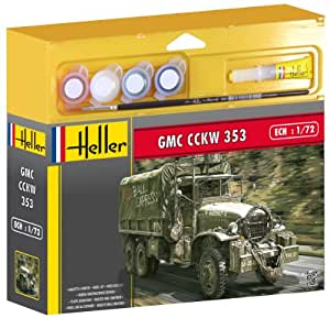 Heller - 49996 - Maquette - GMC CCKW 35 - Echelle 1:72