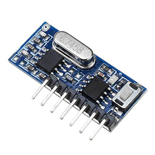 ILS - RX480E-4 433MHz Wireless Funk-Empfänger Learning Code Decoder-Modul 4-Kanal-Ausgang