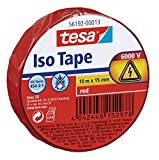 Tesa Isolierband, rot, 10m:15mm