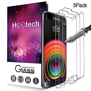 [3-Pack] Vetro Temperato Galaxy S7, Pellicola Protettiva Hootech in Vetro Temperato Screen Protector Film Ultra Resistente (0,33mm HD Alta trasparente) per Samsung Galaxy S7