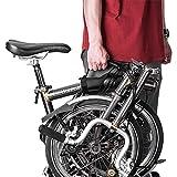 ZJY Maniglia per Il Trasporto della Bici Pieghevole, Impugnatura Mobile, Tracolla, Impugnatura ergonomica con Impugnatura Regolabile Design - Adatto per Accessori Ideali per Biciclette