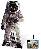Buzz Aldrin (Mond-Landung) Lebensgrosse Pappaufsteller mit 25cm x 20cm foto