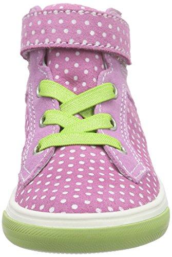 Richter Kinderschuhe Fedora, Baskets hautes fille Rose - Pink (lollypop/candy/apple  3701)