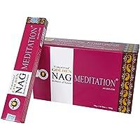 Laroom 13436–Pack 12Boxen von Räucherstäbchen Golden Nag Meditation preisvergleich bei billige-tabletten.eu