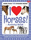 Best Juvenile Books - I Love Horses! Activity Book: Giddy-up great stickers Review