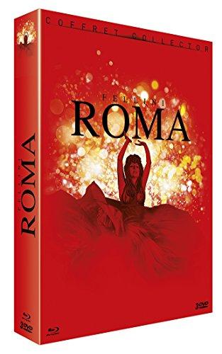 Fellini Roma (Blu-Ray+3 Dvd) [Edizione: Francia] [ITA]