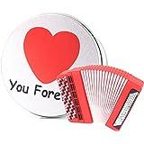 anvor® Amor Regalo 16G silicona acordeón música dispositivo de almacenamiento de datos USB Memory Stick unidad flash y caja de metal de embalaje, presente a amante