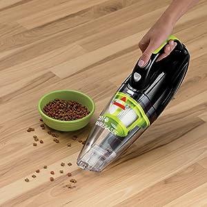 BISSELL Pet Hair Eraser Aspirador de mano con cepillo motorizado desmontable / Ideal para pelo de mascota / 14.4 V