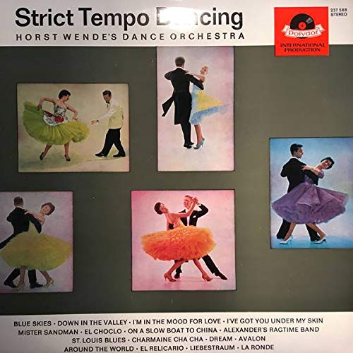 Tanzorchester Horst Wende - Strict Tempo Dancing - Polydor - 237 588 -