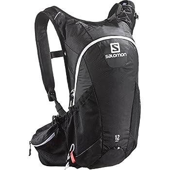 63712b58cc SALOMON Unisex s Batoh Agile Hydration Pack (Pack of 12) -Black Iron White