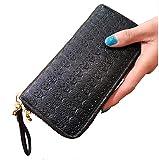 Damen Geldbörse Schwarz Schädel @ KUSTOM FACTORY