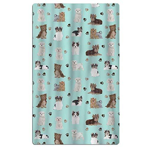 Strandtücher Handtücher Yorkie Maltese Biewer Terriers Dogs Premium Quality Beach Towels - Pool Towels (31 X 51 in)