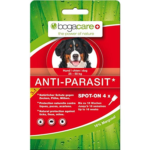 Bogacare UBO0441 Anti-Parasit Spot-On Hund Maxi, 4 x 2.5 ml