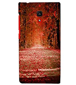 XIAOMI REDMI 1S SCENERY Back Cover by PRINTSWAG
