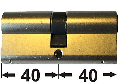 ABUS EC550 Türzylinder (inkl. 3 Schlüssel) -