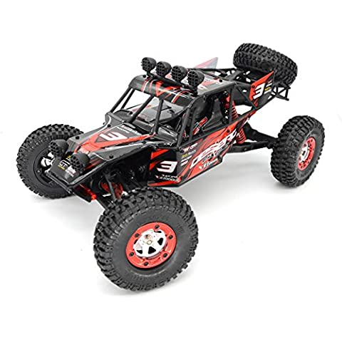 Zerospace Keliwow EAGLE-3 1:12 Full Scale 4WD 2.4G Off-road Car Desert Buggy RTR with 5 More Free R Pins Red by KELIWOW