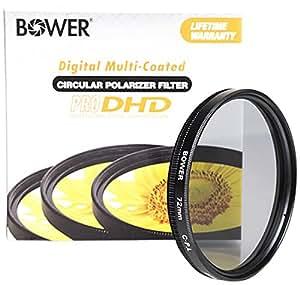 Bower Pro DHD Filtre Polarisant 72 mm