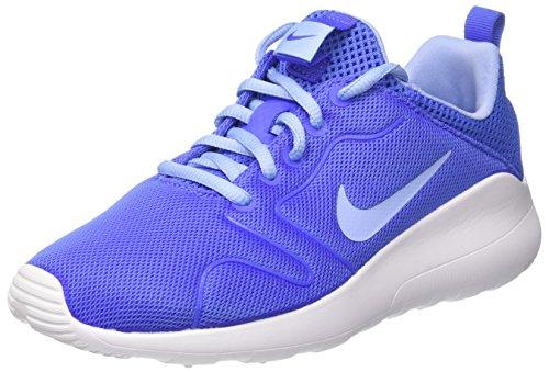 Nike Damen Wmns Kaishi 2.0 Laufschuhe, Blau (Medium Blue/Aluminum), 37.5 EU (Running Wmns Schuhe 2)