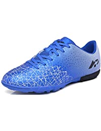 b74a2e328 NEWCOLOR Unisex Football Boots for Boy Girl Women Outdoor Sports Sneakers  Teenager Soccer Athletics Training Shoes