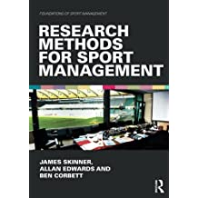 Research Methods for Sport Management (Foundations of Sport Management)