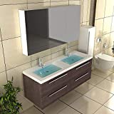Badmöbel Komplettprogramme/Doppelwaschbecken / Badschrank/Badset / Waschbecken - Unterschrank - Spiegelschrank - Hochschrank/Badezimer