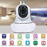 Yogatada Wireless 720P UHD WiFi Rotazione della Testa Telecamera IP di Sicurezza Domestica WLAN Night Vision Webcam Baby Monitor Presa EU