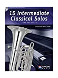15 Intermediate Classical Solos, für Tuba + Klavier, m. Audio-CD