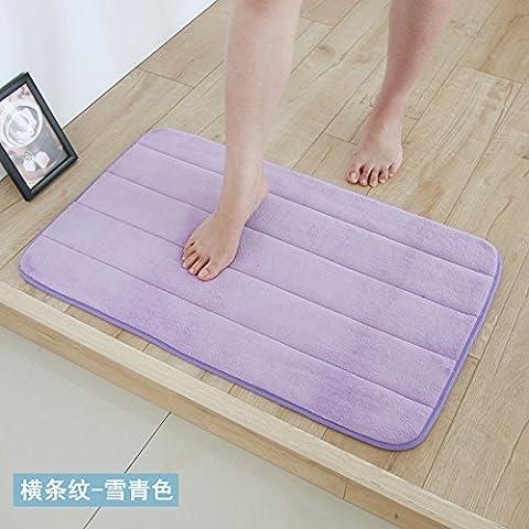 YangR*Slow-Back porta Mat stuoie piedi idratazione Anti-Rutsch-Pad bagno cucina dick pienamente l'anticipo a 40*121, bar della neve-ching