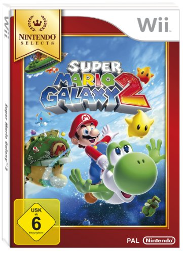 Super Mario Galaxy 2 [Nintendo Selects] (Wege 1 Cds)