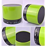 HARINA Wireless LED BluetoothSpeaker With Calling Functions & FM Radio (Assorted Colour)