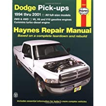 Dodge Full-Size Pickups, 1994-2001 (Haynes Manuals)