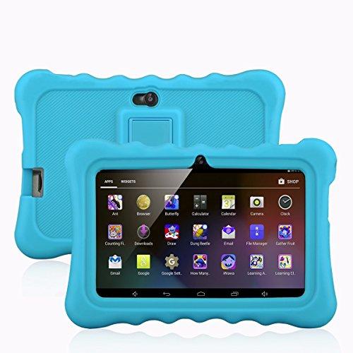 Ainol Q88 - 7 Zoll Kids Tablet PC (Android 4.4, 1024*600 pixel, 8 GB, unterstützt 3G, Allwinner A33 Dual core, Cortex A7 1.2GHz, dual Kamera, WIFI) (blau)