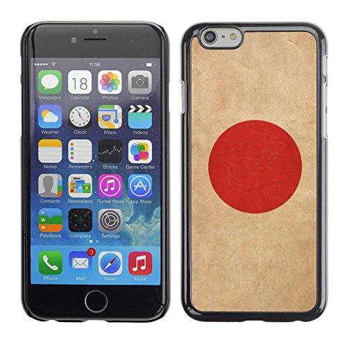 Graphic4You Vintage Uralt Flagge Von Philippinen Philippinische Design Harte Hülle Case Tasche Schutzhülle für Apple iPhone 6 / 6S Japan Japanisch