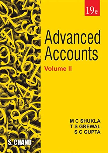 Advanced Accounts - Vol. II
