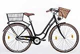 tretwerk DIREKT gute Räder Nostalgie Retro 28 Zoll Cityrad, Damen-Fahrrad mit 3-Gang Nabenschaltung