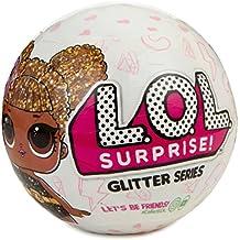 Giochi Preziosi - LOL Surprise Glitter Sfera con Mini Doll a Sorpresa, 7 Livelli, Modelli Assortiti, 1 Pezzo