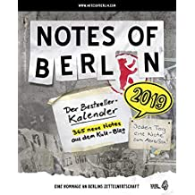 Notes of Berlin 2019