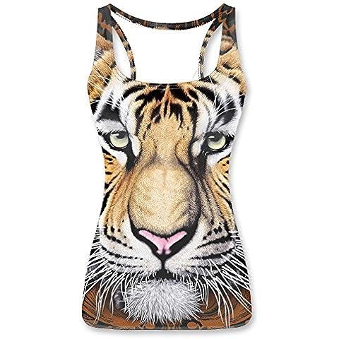 Have Fun Animals Cartoon World Women Funny Vest Tank