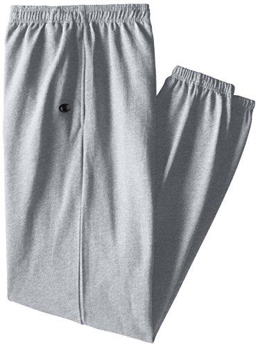 Champion -  Pantaloni sportivi  - Uomo Grey Heather