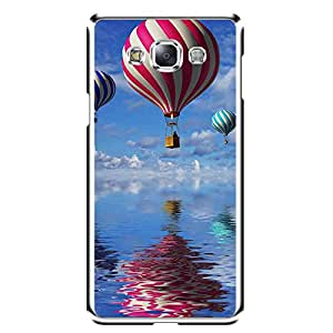 "Bhishoom Designer Printed 2D Transparent Hard Back Case Cover for ""Samsung Galaxy E7"" - Premium Quality Ultra Slim & Tough Protective Mobile Phone Case & Cover"