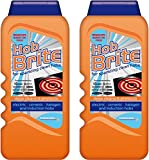 2 x Homecare Hob Brite Hob Cleaner Removes Burnt On Food 300ml
