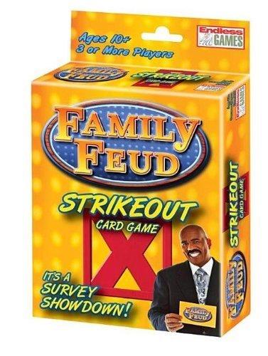 Famille Feud strikeout Jeu de cartes par Endless Jeux [Jouet]