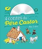4 contes du Père Castor à écouter dès 2 ans (1CD audio)