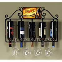 INTASTE Wine Rack Wine Glass Holder