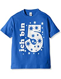 Coole-Fun-T-Shirts Jungen T-Shirt Ich Bin 5 Jahre !