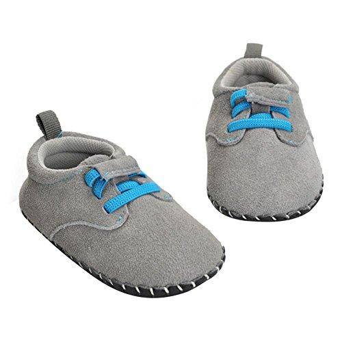 Domybest Baby Nubuck Leder Schuhe Erste Walkers Anti-Rutsch Schuhe für Baby Jungen Mädchen Leder Baby-schuhe Walker